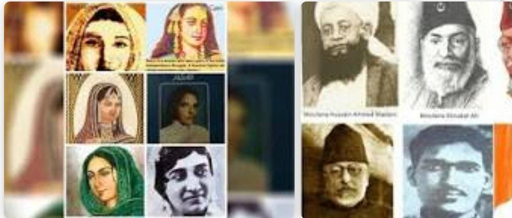 অত্যাচারী ব্রিটিশের বিরুদ্ধে জেহাদ ঘোষণা করেছিলেন যে সমস্ত ভারতীয় মুসলিম নারীঃ-