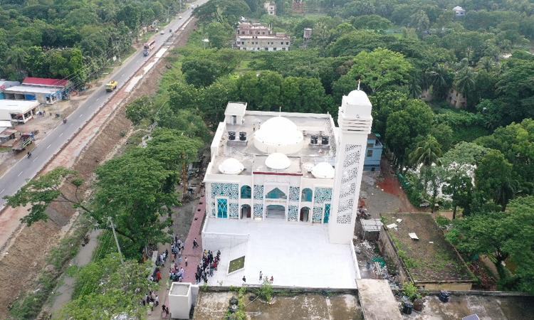 ৫০ টি মডেল মসজিদ উদ্বোধন করলেন প্রধানমন্ত্রী