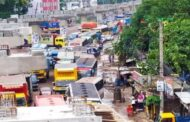 ৮ বছরেও শেষ হয়নি ঢাকা-ময়মনসিংহ মহাসড়কের কাজ, যানজটে ভোগান্তি চরম