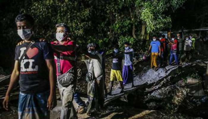 মালয়েশিয়ায় ৬২ বাংলাদেশিসহ ১৫৬ বিদেশি শ্রমিক আটক