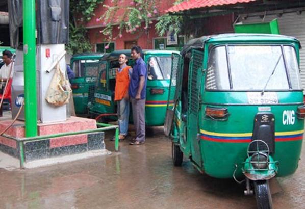 রোববার থেকে সিএনজি স্টেশন ৪ ঘণ্টা বন্ধ থাকবে