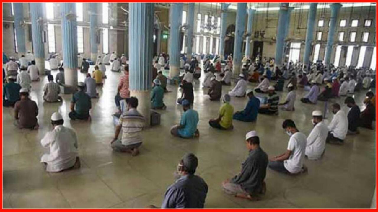 মসজিদে নামাজ আদায়ে সর্বমোট ২০ জন মুসল্লি অংশগ্রহণ করতে পারবেন